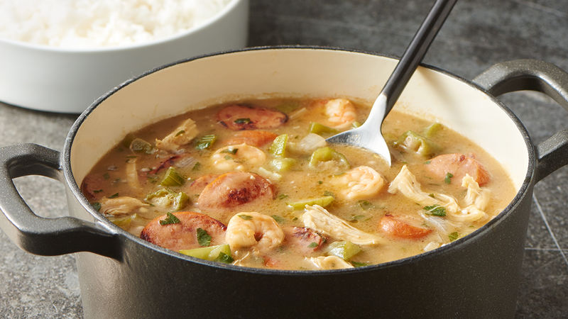 recipe: calories in homemade seafood gumbo [7]