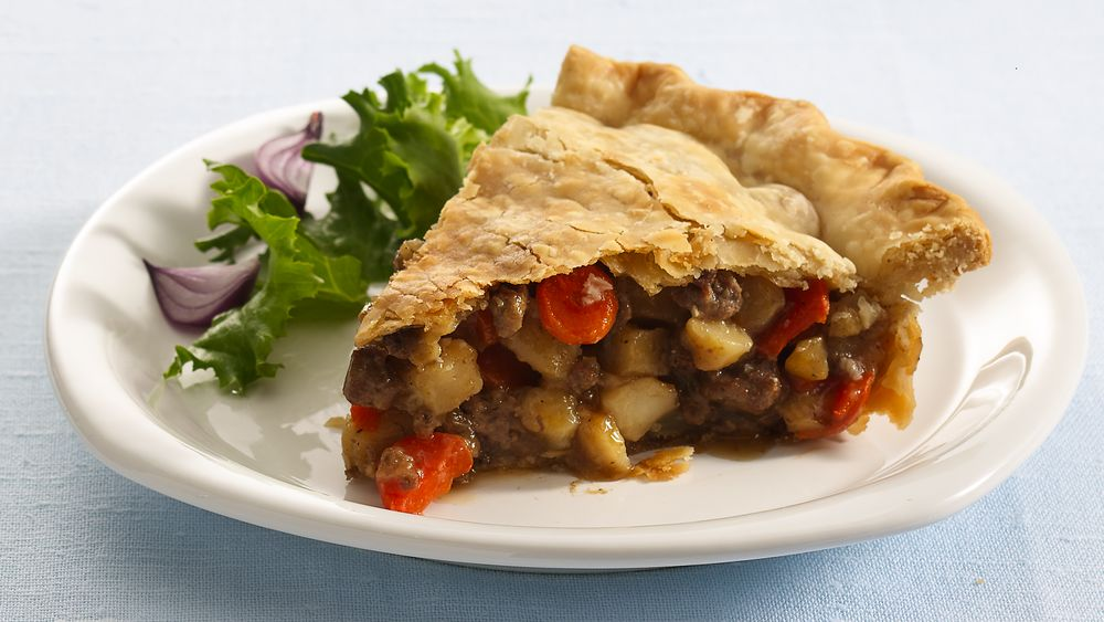 Ground Beef Pot Pie recipe from Pillsbury.com