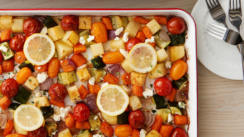 Easy Roasted Mixed Vegetables