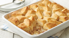 Sausage Biscuits and Gravy Casserole