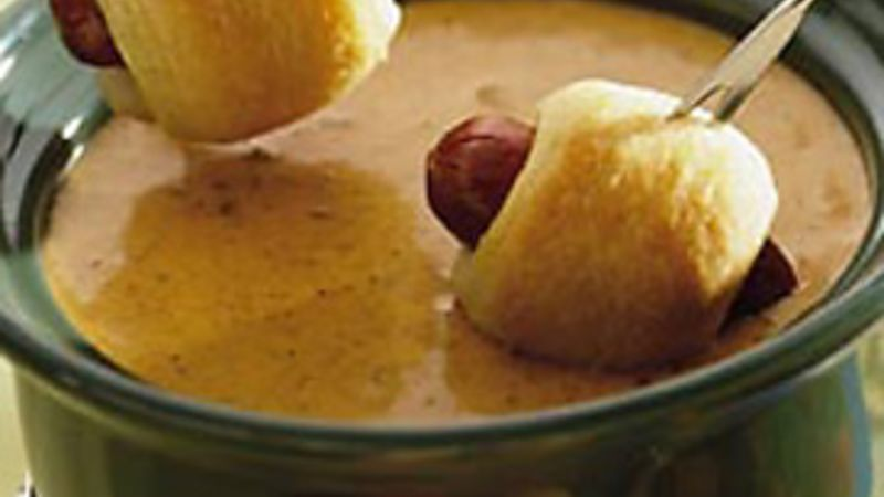 Chili Cheese Dog Fondue