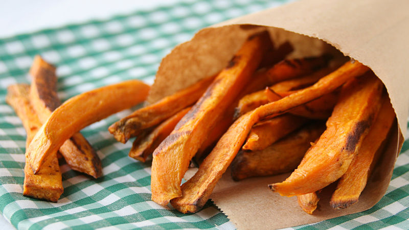 Taco Spiced Sweet Potato Fries