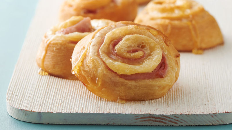 Ham and Cheese Pinwheel Sandwiches