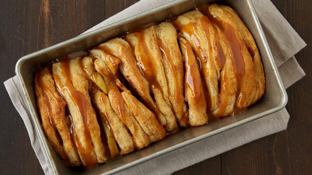 Apple Pie Pull Apart Bread Recipe From Pillsbury Com