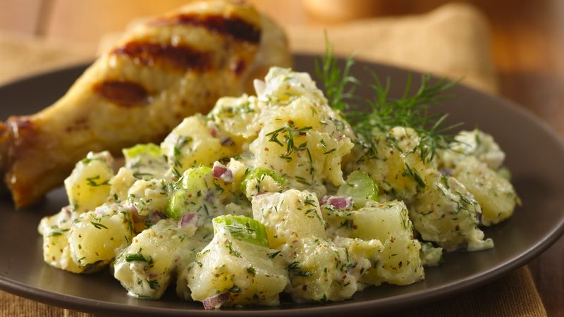Russet Potato Salad Recipe Bettycrocker Com