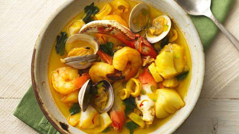 Fresh Seafood Stew (Sopón Marinero)