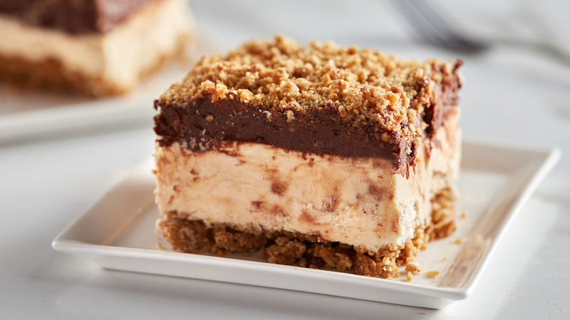 Frozen Peanut Butter Crunch Cake