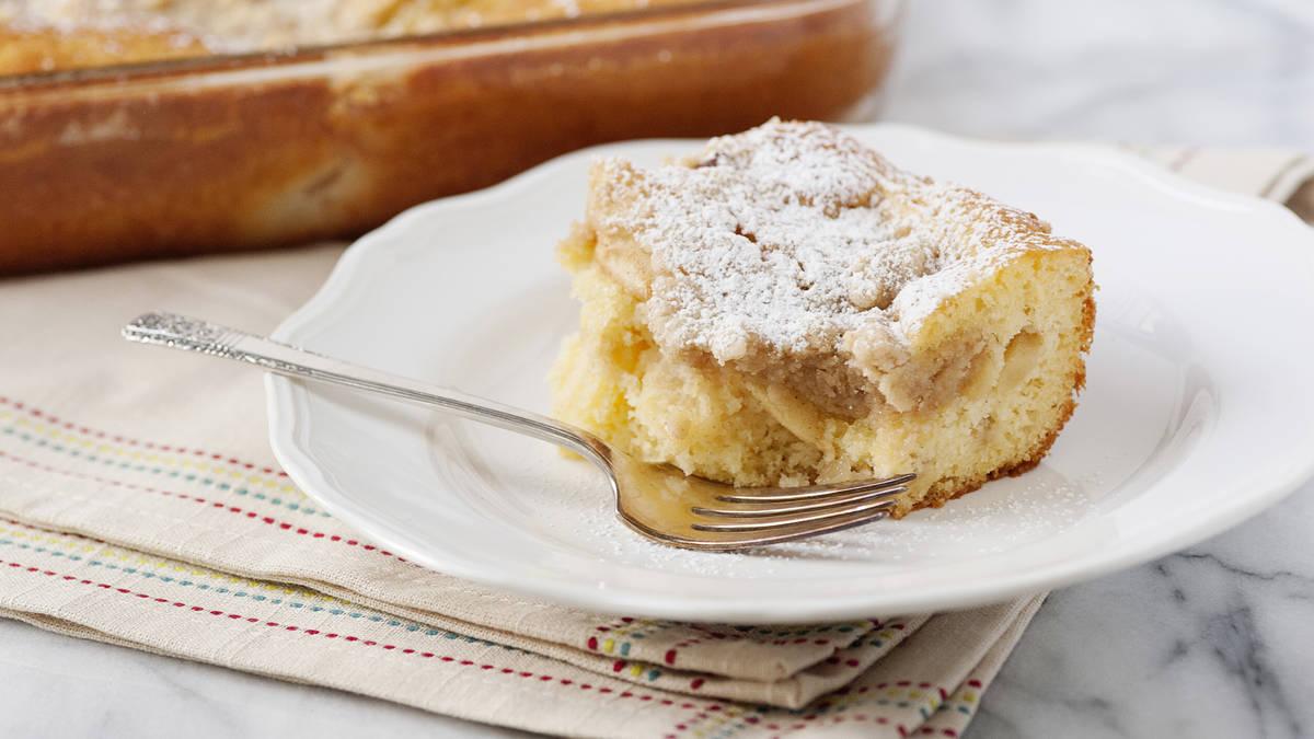 Gâteau à la tarte aux pommes