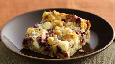 Winter Harvest Cookie Bars