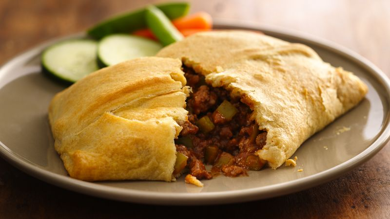 Big & Meaty Sloppy Joe Pockets