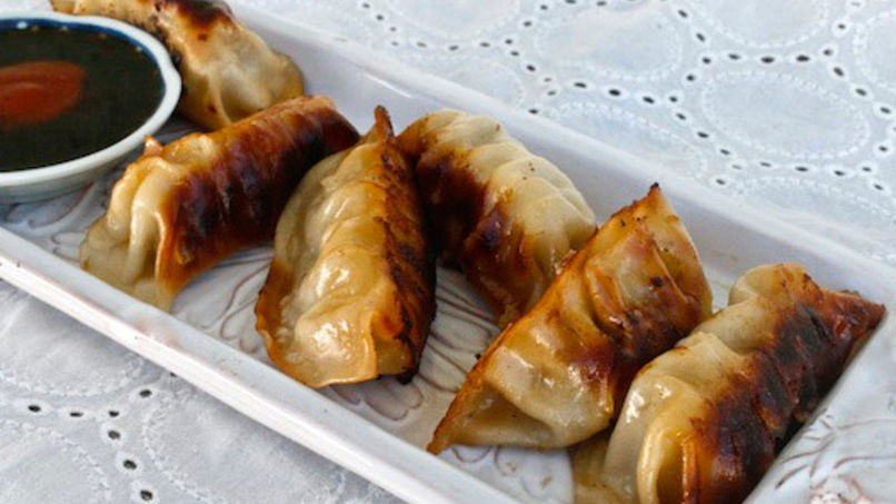 Chorizo Fried Dumplings
