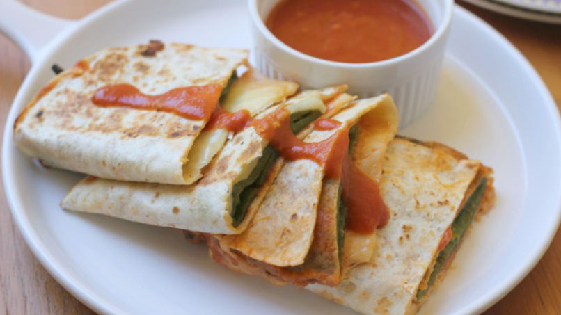 Chile Relleno Quesadilla