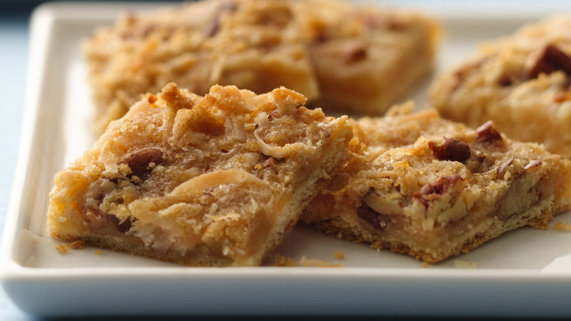 Reduced-Sugar Quick and Chewy Crescent Bars