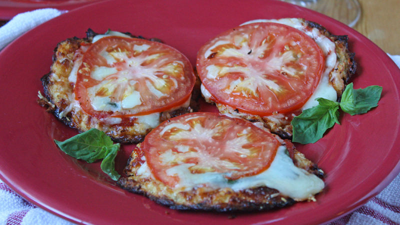 How to Make Mini Cauliflower-Crust Pizzas