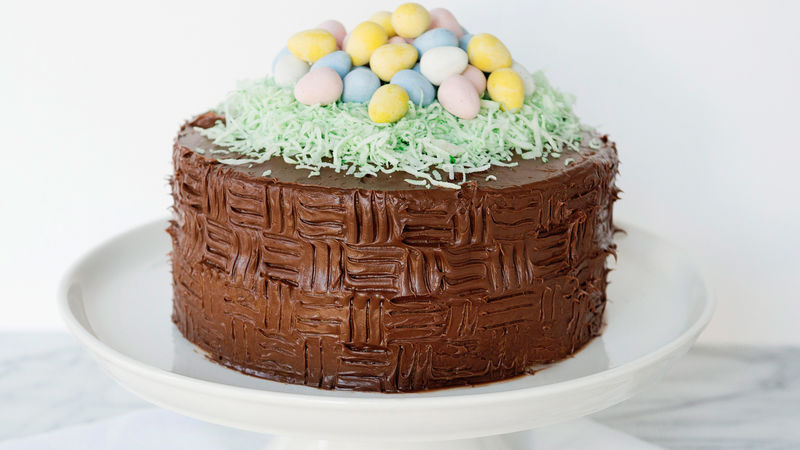 Easter basket cake recipe tablespoon easter basket cake negle Gallery