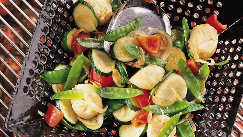 Scallop and Veggie Stir-Fry