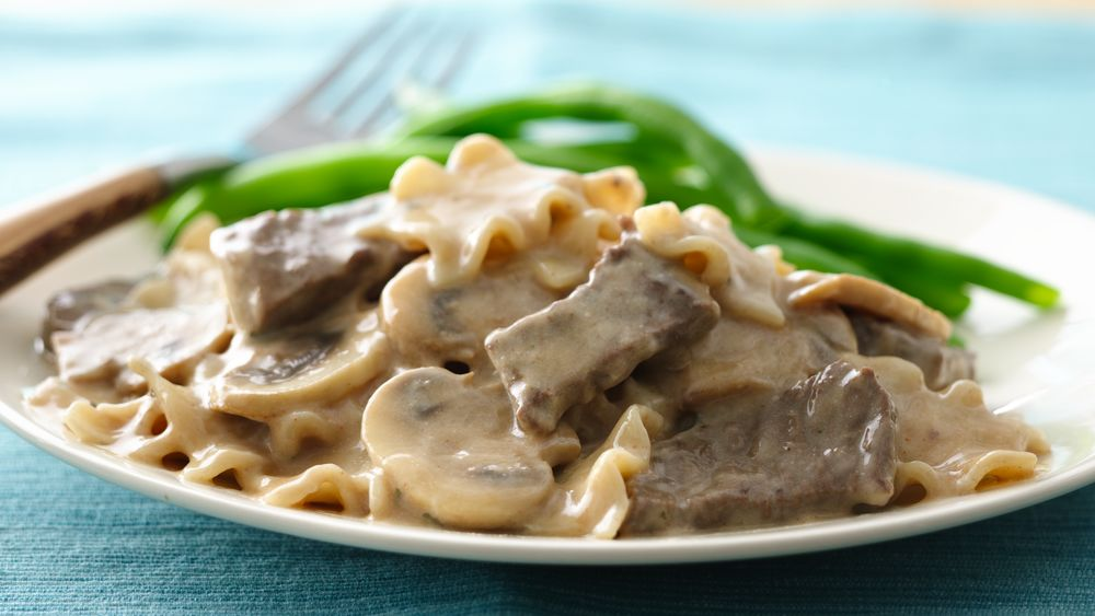 Easiest Ever Beef Stroganoff