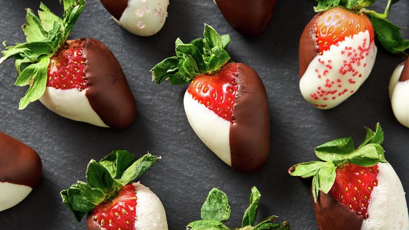 Black And White Strawberries Recipe Tablespoon Com