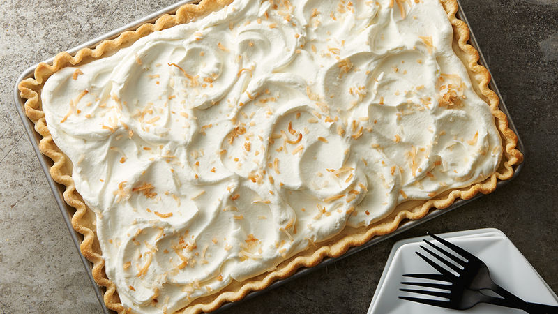Rum-Spiked Coconut Cream Pie Bars