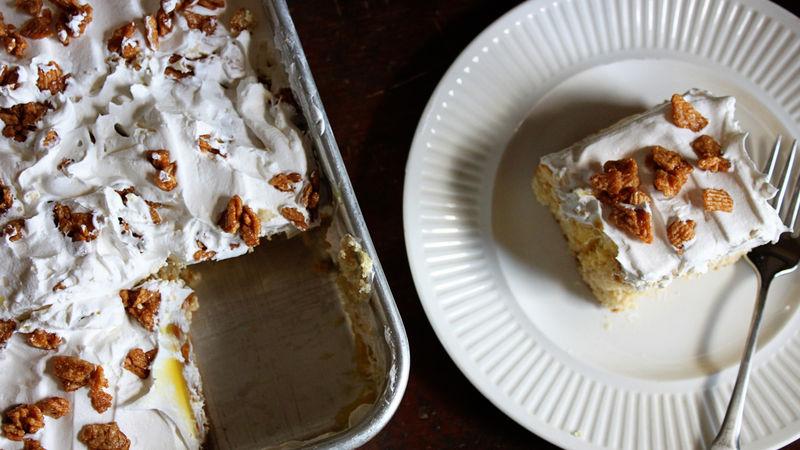 Gâteau troué aux céréales Croque CannelleMC