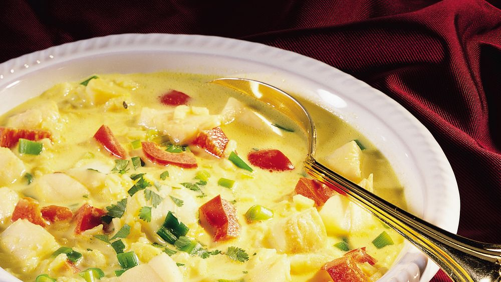 Coconut-Fish Chowder