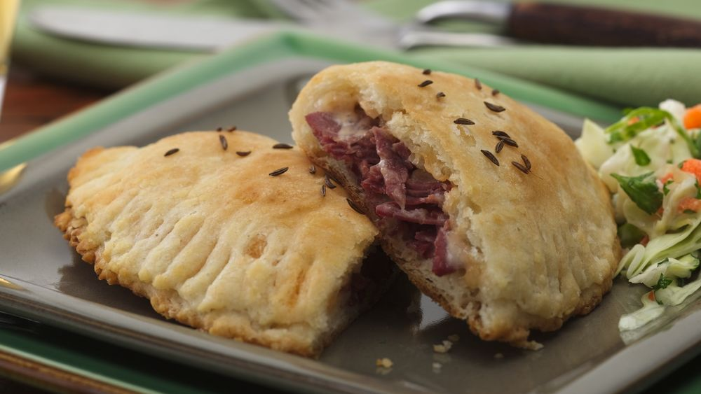 Corned Beef Biscuit Sandwiches