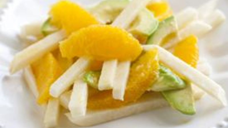 Orange and Jicama Salad with Avocado