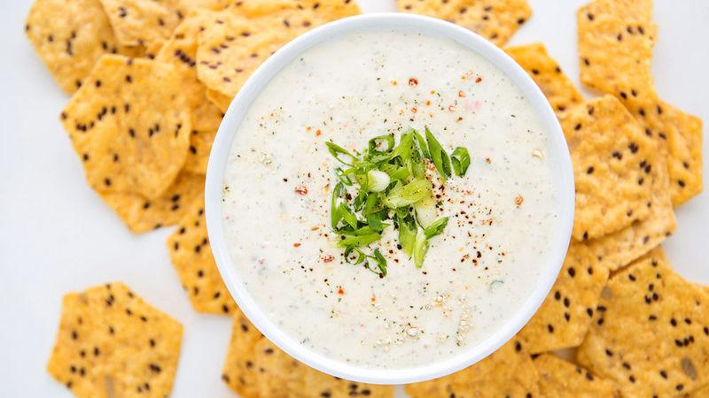 Creamy Garlic Salsa