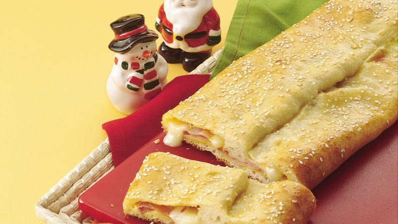 Ham and Swiss Sandwich Roll