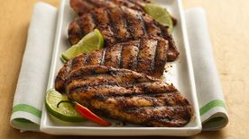 Gluten-Free Lime and Chili Rubbed Chicken Breasts