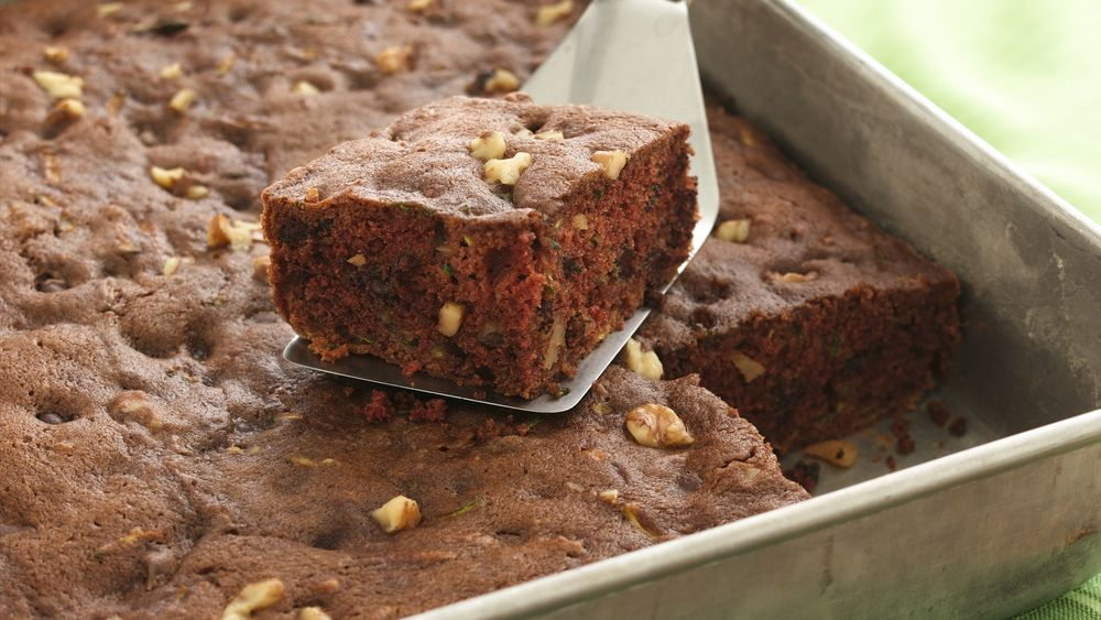 Chocolate Chip-Zucchini Cake