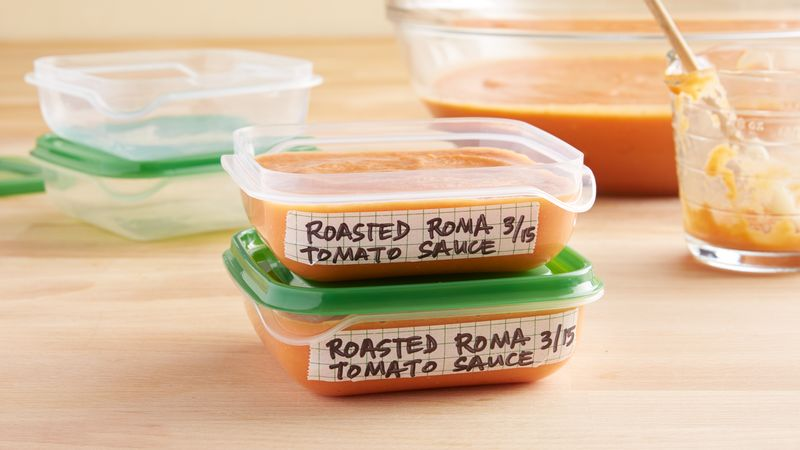 Make-Ahead Roasted Roma Tomato Sauce