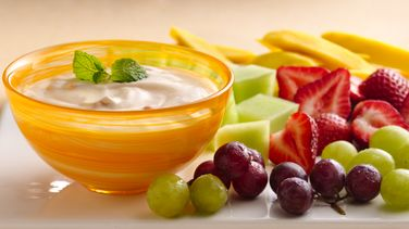 Apricot Mango Yogurt  Fruit Dip