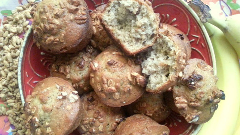 Banana Muffins with Fiber One® Protein Cereal