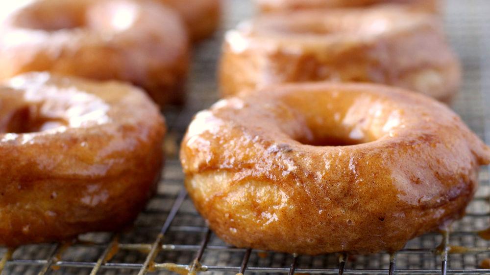 Grands!™ Pumpkin Doughnuts