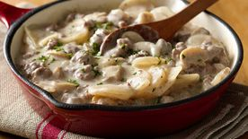 Potatoes Stroganoff