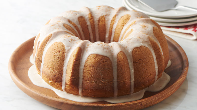 How To Make An Eggnog Cake