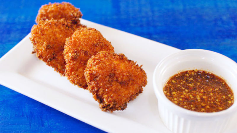 Thai Curry Chicken Nuggets