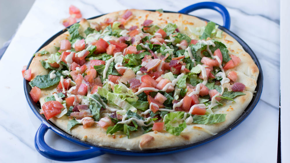 Honey Balsamic BLT Pizza