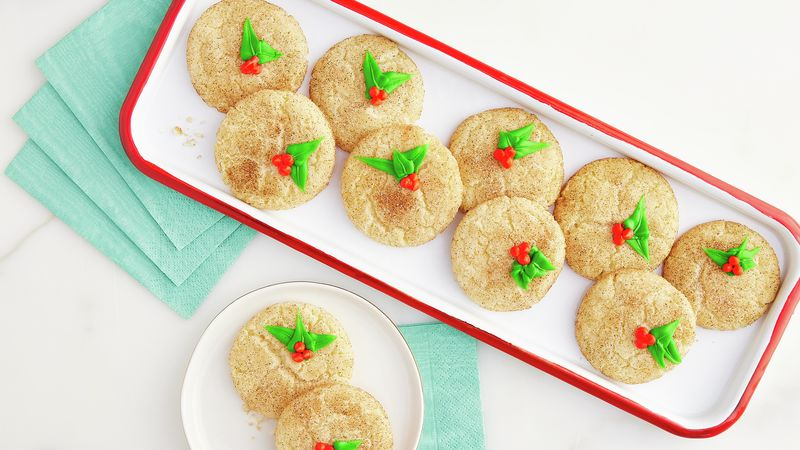 Easy Christmas Snickerdoodles