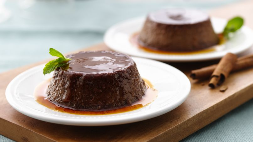 Mexican Chocolate Flans
