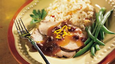 Pork Roast with Cranberries