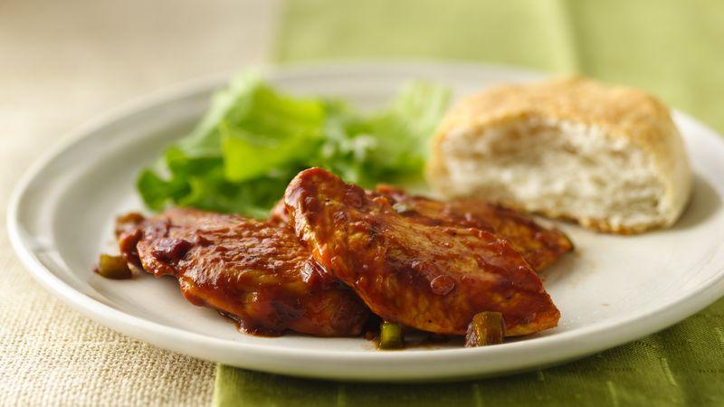 Barbecued Turkey Tenderloin