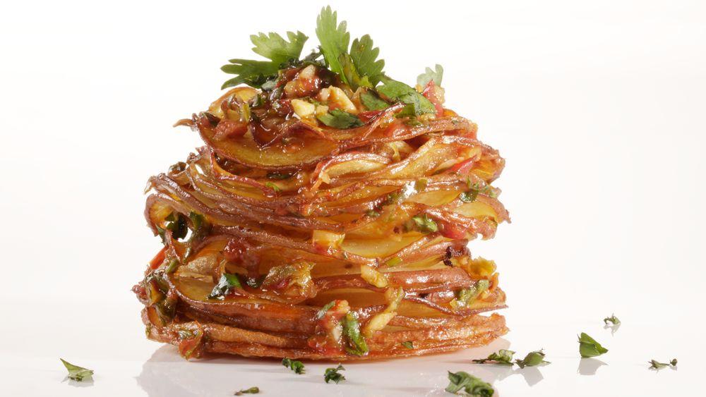 Chipotle Potato Stacks
