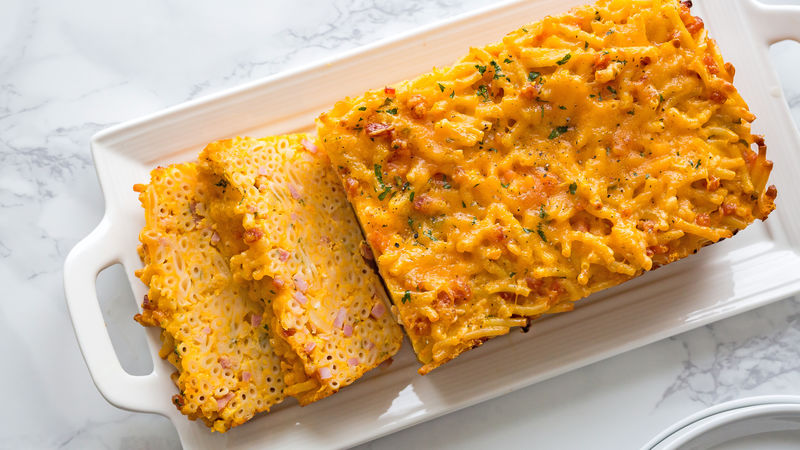 Macaroni and Cheese Loaf
