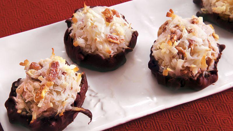 Pecan Chocolate Macaroons