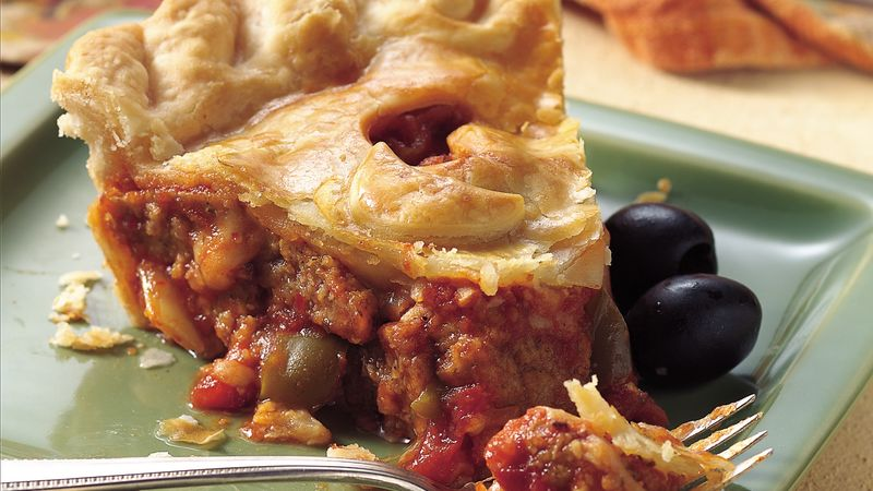 Meatball Sandwich Pot Pie