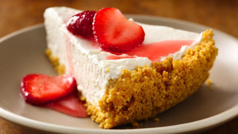 Pastel de Queso con Dulce de Leche Cheerios® sin Hornear
