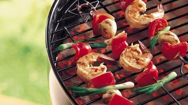 Ginger Shrimp Kabobs