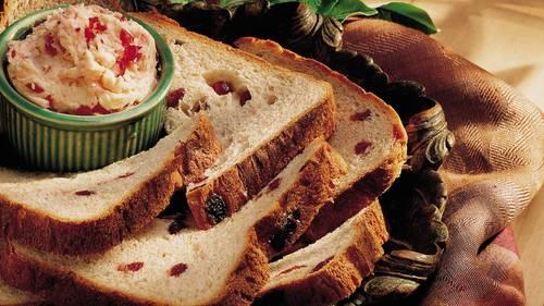 Bread Machine Whole Wheat Cranberry Bread